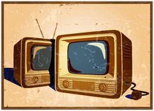 Retro TV Royalty Free Stock Images