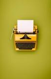 Retro typewriter Stock Image