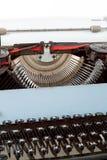 Retro typewriter close up with detail of keys Royalty Free Stock Photo