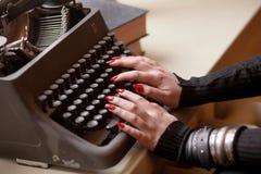 Retro typewriter Royalty Free Stock Images