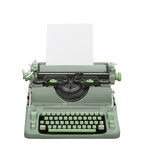 Retro Typewriter Isolated Royalty Free Stock Images