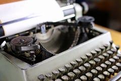 Retro typewriter letter Stock Photos