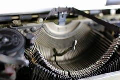 Retro typewriter letter Royalty Free Stock Images