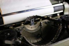 Retro typewriter letter Royalty Free Stock Photo