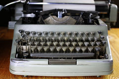 Retro typewriter letter Stock Photo