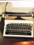 Retro typewriter Royalty Free Stock Photo