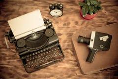 Retro typewriter Royalty Free Stock Photos