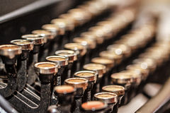 Retro typewriter Royalty Free Stock Image