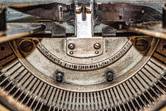 Retro typewriter Stock Photography