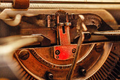 Retro typewriter Royalty Free Stock Images