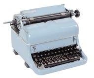 Retro typewriter on white background Royalty Free Stock Images