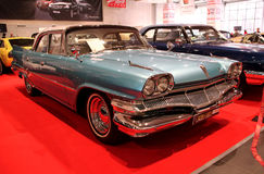 Retro- u. Exotica-Autoausstellung Stockfotografie