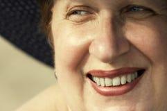 retro uśmiech Fotografia Royalty Free