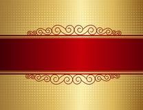 Retro uitnodigingsachtergrond Stock Fotografie