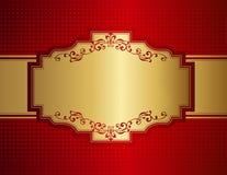 Retro uitnodigingsachtergrond Royalty-vrije Stock Foto's
