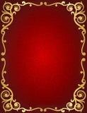 Retro uitnodigingsachtergrond Royalty-vrije Stock Afbeeldingen