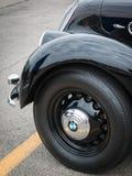 Retro Uitstekend de Autodetail van BMW Royalty-vrije Stock Foto's