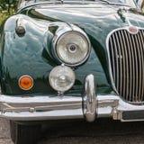 Retro Uitstekende Auto van Jaguar Royalty-vrije Stock Foto's