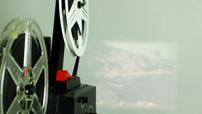 Retro Uitstekende Film Rolling stock videobeelden