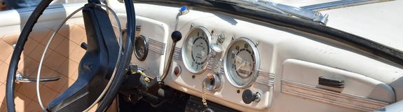 Retro Uitstekende machine Royalty-vrije Stock Foto
