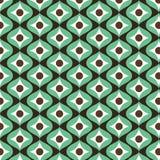 Retro uitstekende patroonachtergrond Naadloos patroon Druktextuur Harmonische kleurencombinaties Stoffenontwerp Stock Foto's