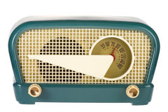 Retro Uitstekende Radio Royalty-vrije Stock Afbeeldingen