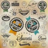Retro uitstekende stijl, hand het van letters voorzien Royalty-vrije Stock Fotografie