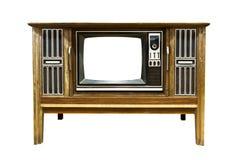 Retro Uitstekende televisie 2 Stock Afbeelding