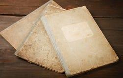 Retro una aún-vida con los escritura-libros Imagenes de archivo