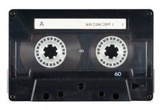 Retro- unbelegtes Kassetten-Band stockbild
