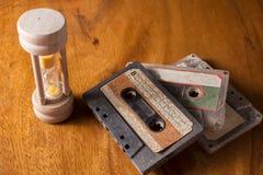 Retro- und alte Musikausrüstung Lizenzfreies Stockfoto