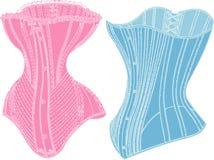 retro underkläder Arkivbild