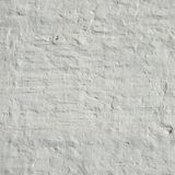 Retro Uneven White Painted And Plastered Brick Wall Frame Backgr Royalty Free Stock Photography