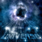 Retro universe Royalty Free Stock Images
