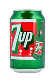 Retro 7UP can. Royalty Free Stock Images