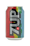 Retro 7UP can. Royalty Free Stock Photo