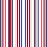 Retro usa Color style seamless stripes pattern. Abstract vector. Background Royalty Free Stock Images