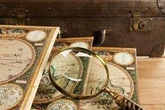 retro ustalony podróżowanie Obraz Stock