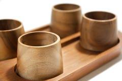 Retro utensili di legno antichi Immagine Stock
