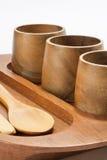 Retro utensili di legno antichi Fotografia Stock Libera da Diritti