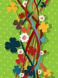 Retro växt av släkten Trifoliummodell Royaltyfria Bilder