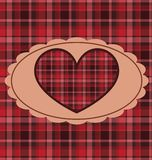 Retro Valentine Background Royalty Free Stock Photo