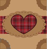 Retro Valentine Background Stock Photos