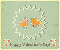 Retro Valentines Day Royalty Free Stock Photo