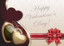Retro Valentines day background Royalty Free Stock Photography