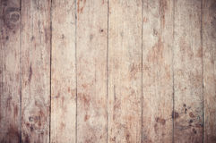 Retro van Houten Plankachtergrond Royalty-vrije Stock Foto's