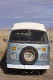 Retro Van nell'Utah immagine stock
