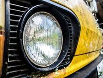 The retro van Stock Photography