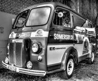 Retro Van Somersby Cider d'annata Fotografie Stock Libere da Diritti