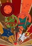 Retro vecchio tatto di modo di Grunge royalty illustrazione gratis